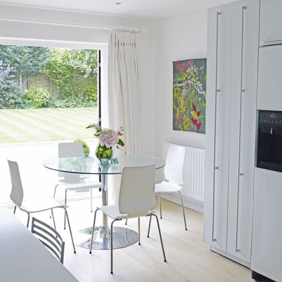 Housetohome Co Uk: White Kitchen-diner
