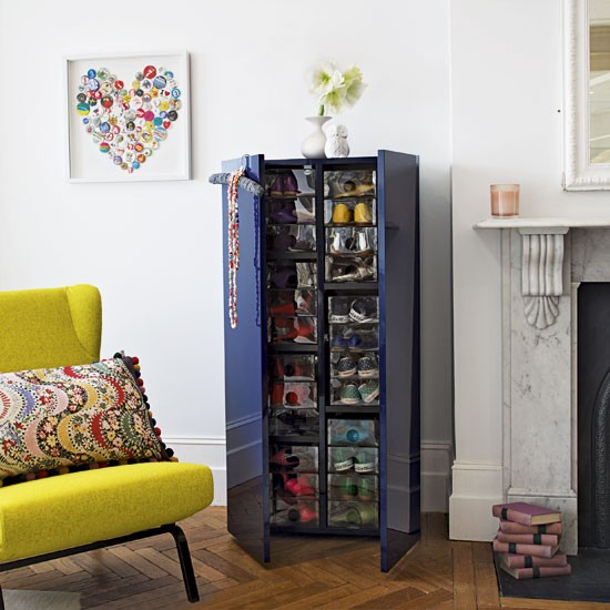 Shoe storage storage solutions bedrooms image - Storage solutions for small living rooms ...