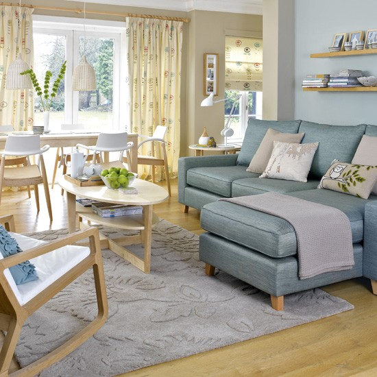 Scandinavian Living Room Design Ideas Inspiration: Scandinavian-style Living Room