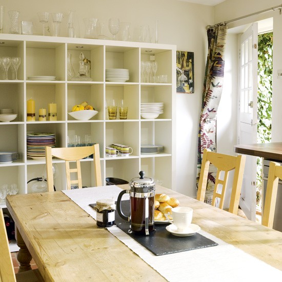 Small Dining Room Solutions: Kitchen-diner Storage