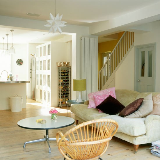Bright And Airy Basement Room