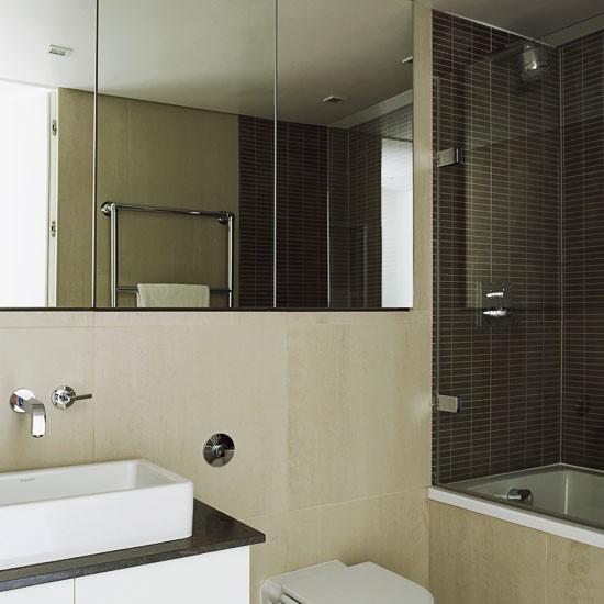 Modern Small Bathroom Ideas: Bathroom Tiles