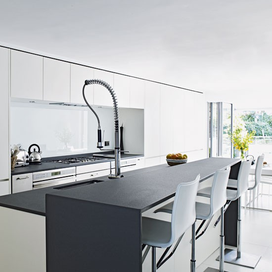 Grey And White Kitchens: Ideas For Kitchen