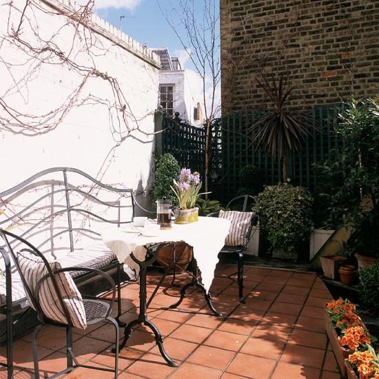Housetohome Co Uk: Mediterranean Roof Garden
