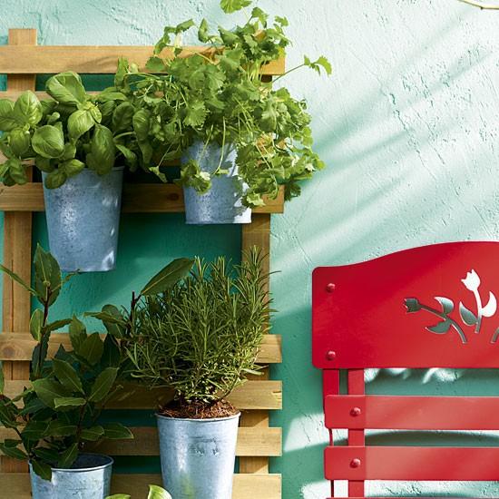 Patio Herb Garden Idea: Plant A Mini Herb Garden