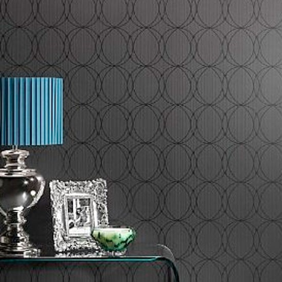 Contemporary Wallpaper Ideas: Geometric Wallpaper From M&S