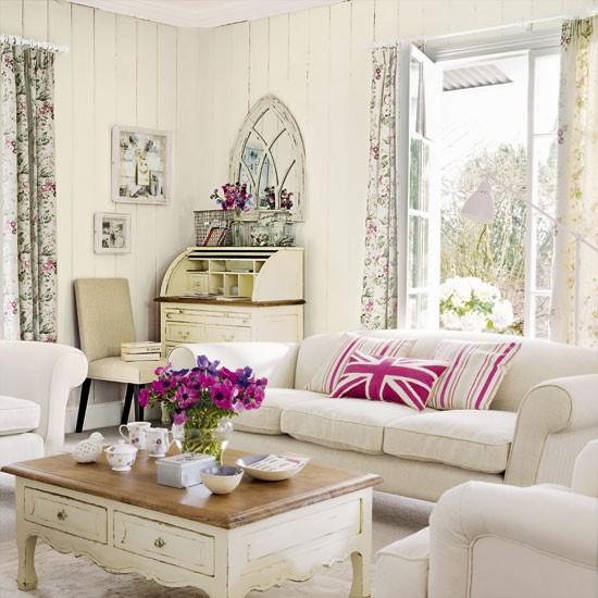 Vintage-style Living Room