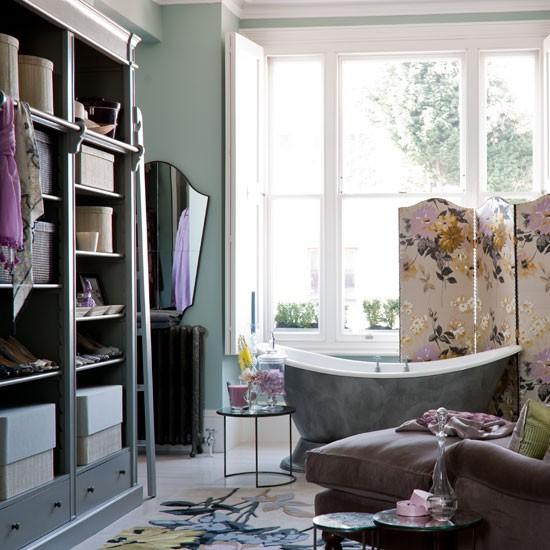 Closet Bathroom Ideas: Glamorous Bathroom And Dressing Area