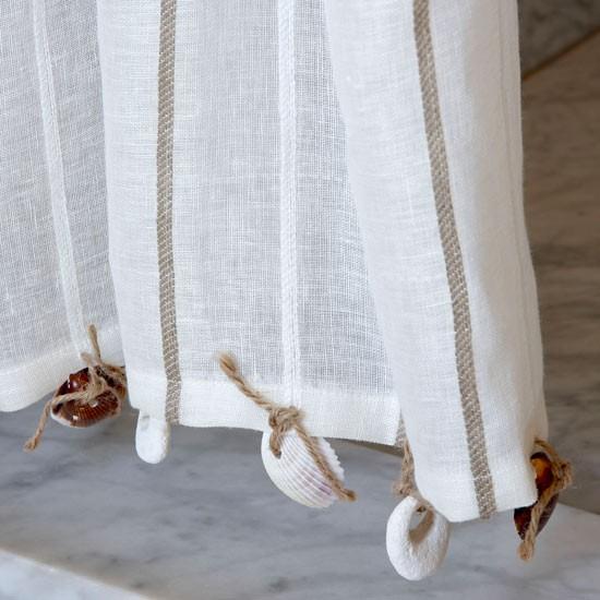 Bathroom Curtain Craft Idea