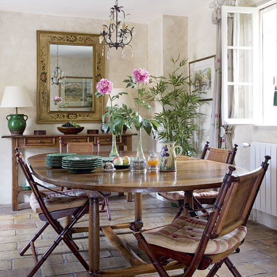 Country Style Dining Room Furniture: French Country-style Dining Room