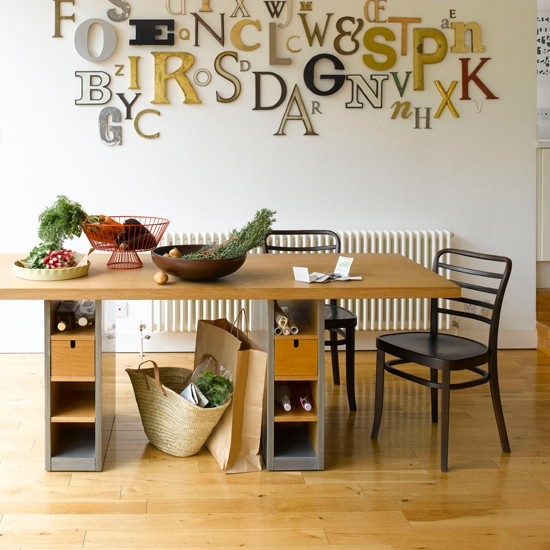 Dining Room Table With Storage: Dining Room Table With Hidden Storage