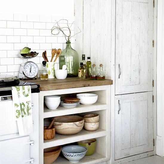 Kitchen Shelf Ideas: Rustic Kitchen Storage