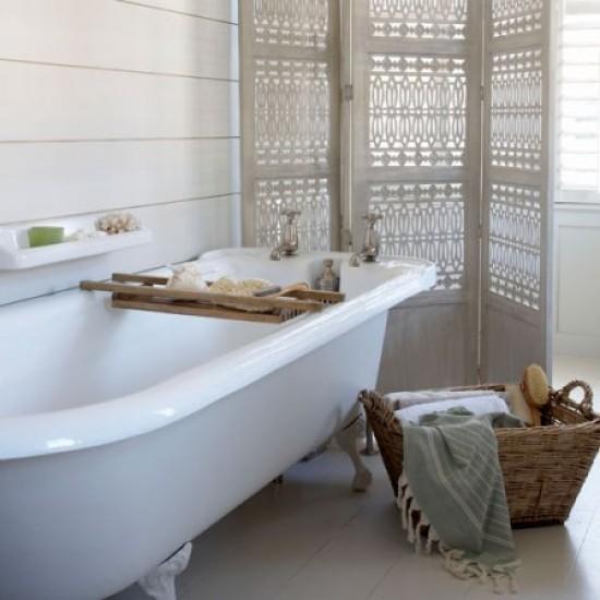Calming Bathroom Ideas: Cool, Calm Bathroom