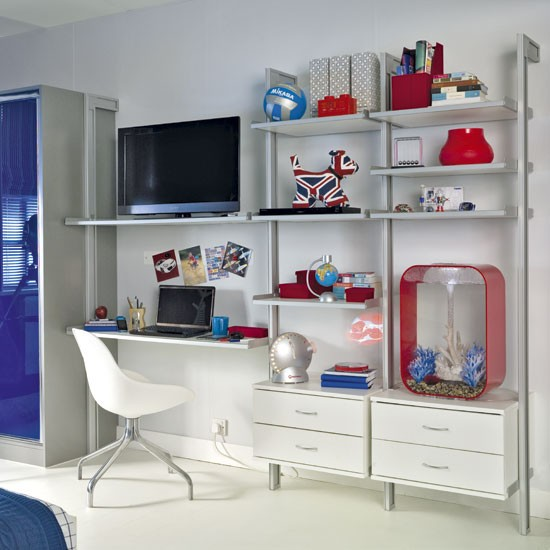 Shared Boys Bedroom Storage: Bedroom Storage Ideas