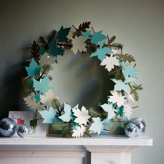 Home Decoration Ideas With Paper: Keeping The Christmas Spirit Alive 365: Decorating Ideas