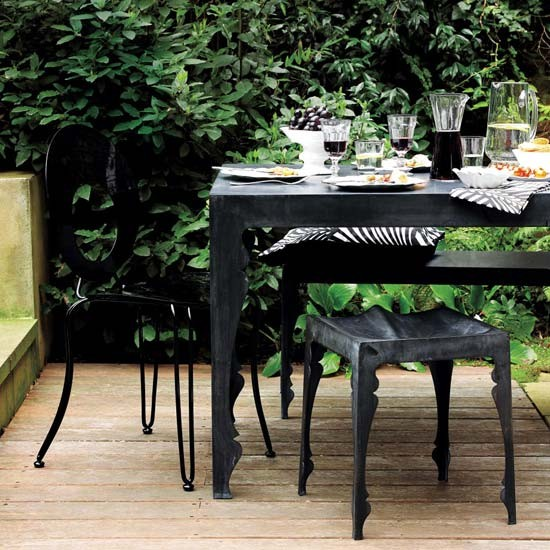 Contemporary Outdoor Dining Furniture: Garden Dining Designs