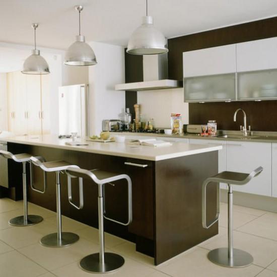 Contemporary Kitchen Lighting: Sleek Modern Kitchen
