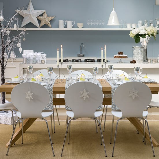 Small High Impact Decor Ideas: Simple Christmas Dining Decorations