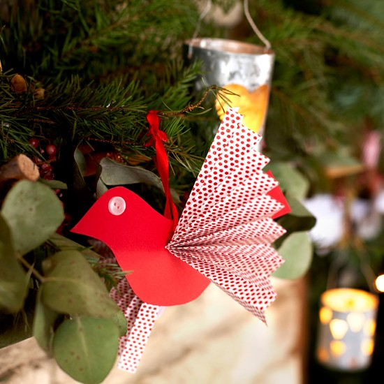How To Make Paper Bird Decorations