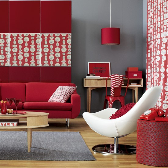 Bold Room Designs: Retro Living Room Ideas