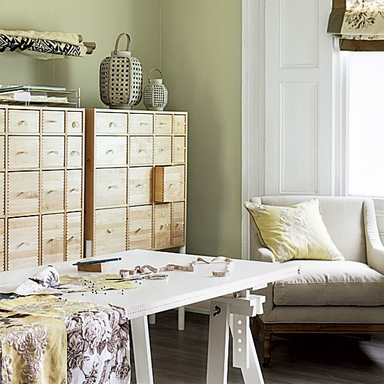 Housetohome Co Uk: Home Office And Craft Room