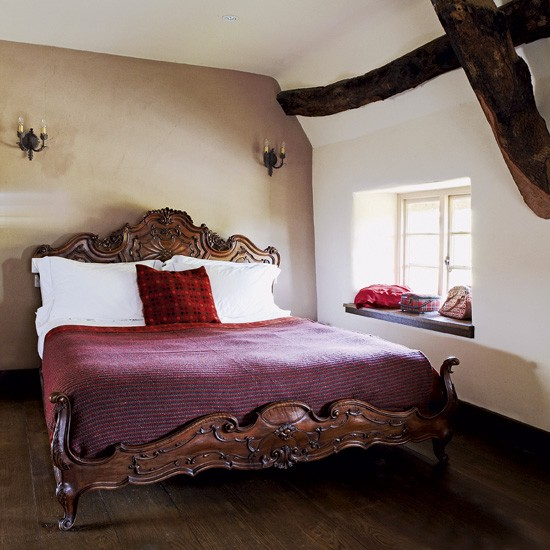 Country Bedroom With Opulent Bed