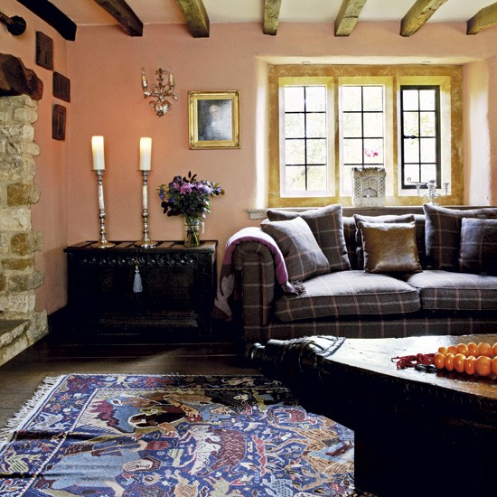 Quirky Country Living Room