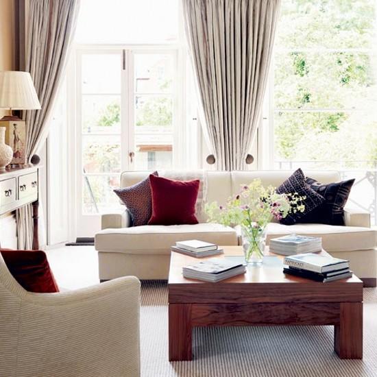 Elegant Living Rooms In Neutral Colors
