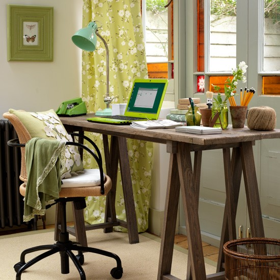 Home Desk Design Ideas: Home Office Decorating Ideas