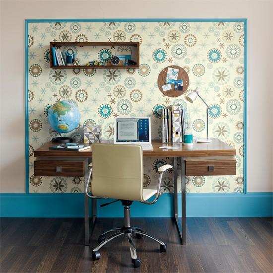 Home Office Wallpaper Ideas 2017 Grasscloth Wallpaper