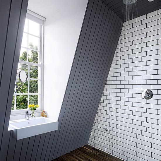 Modern Wetroom Small Bathrooms Loft Conversions