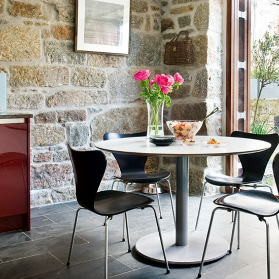 Modern Country Dining Room Table: Modern Country Kitchen-diner