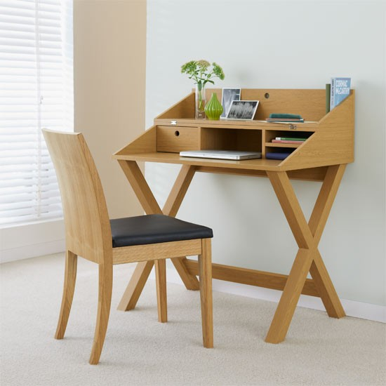 Opus Oak II Flip Top Desk From Next
