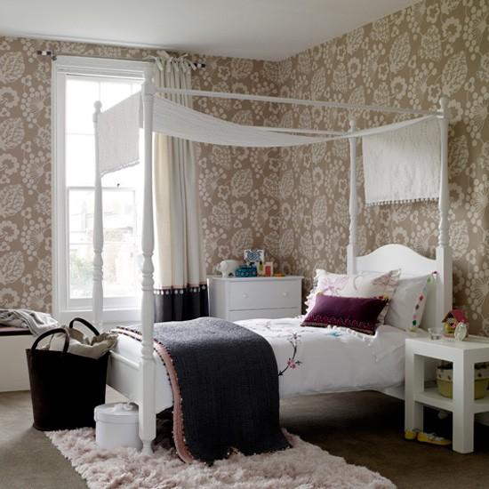 Girl S Neutral Floral Bedroom Children S Rooms Best Of
