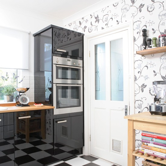 wallpaper about modern kitchen - photo #4