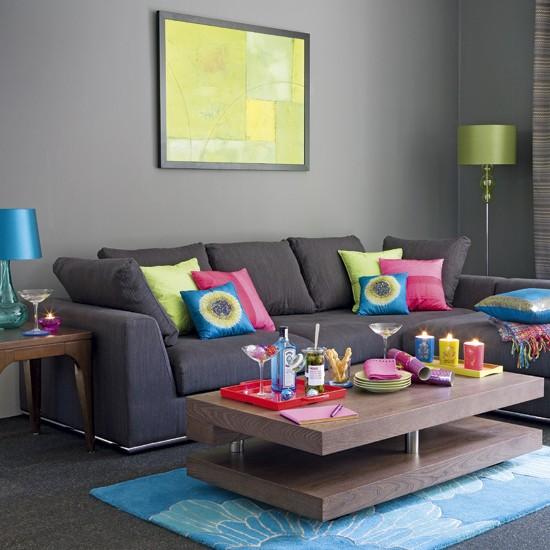 gray sofa living room ideas. Black Bedroom Furniture Sets. Home Design Ideas