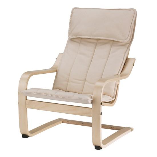 POÄNG children's armchair from Ikea | Children's armchairs ...