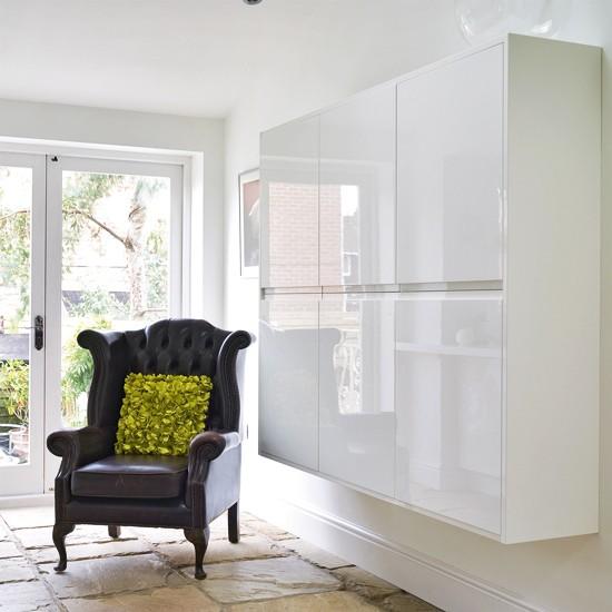 Modern Living Room Storage