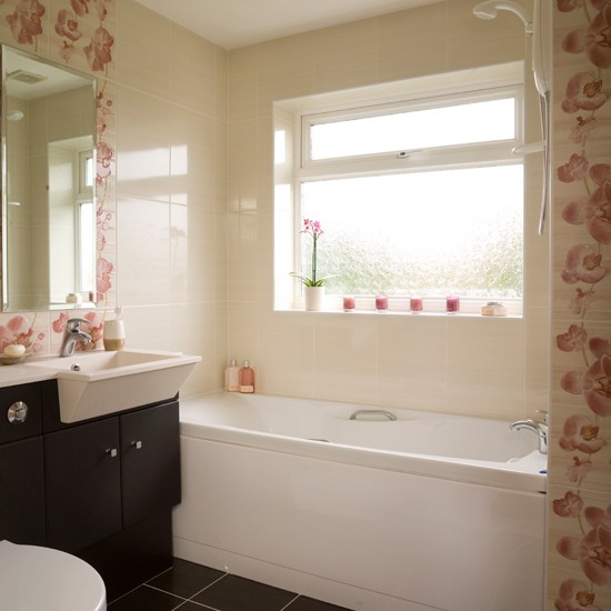 Floral Bathroom Tiles