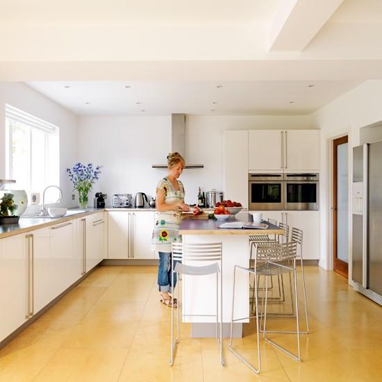 Semi Open Kitchen Designs: Step Inside A 1930s Semi