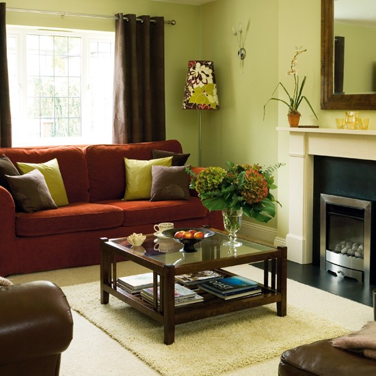 Living Room Detached 1940s House House Tour Ideal