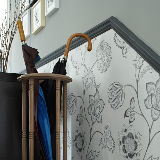 Hallway adorning thoughts thoughts - Hallway Wallpaper Ideas