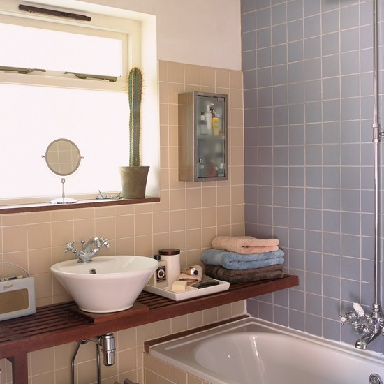 Bathroom New England Style Cottage House Tours Ideal