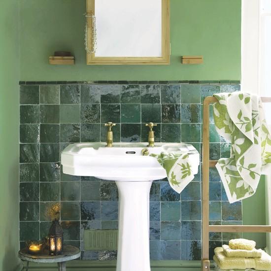 Green Bathroom: How To Use Green Colour - 5 Ideas