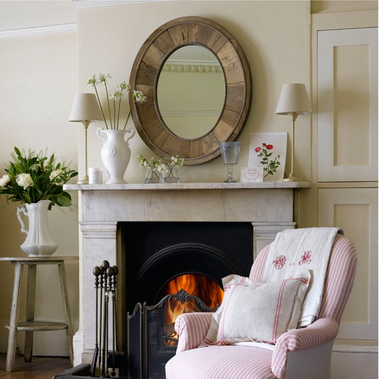 Focus The Room With A Centrepiece Mirror Cosy Fireplace