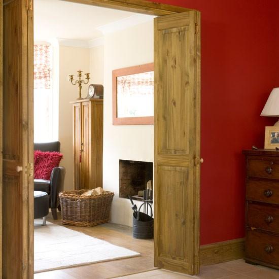 rustic living room sliding door | Rustic folding doors | Sliding doors - 8 ideas ...