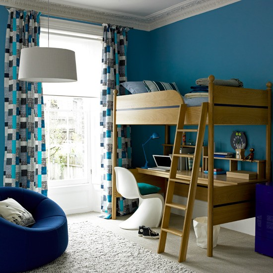 Blue Kids Room: Colourful Children's Bedroom Ideas - 10 Best