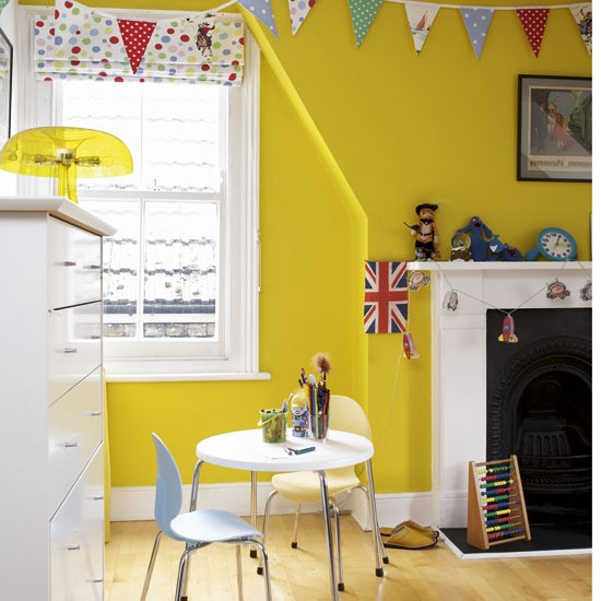 Yellow And Green Kids Room Ideas: Colourful Children's Bedroom Ideas - 10