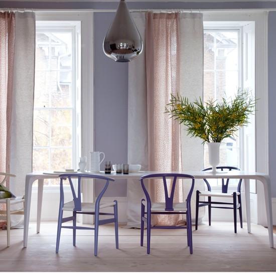 Modern Pastel Dining Room Dining Room Design
