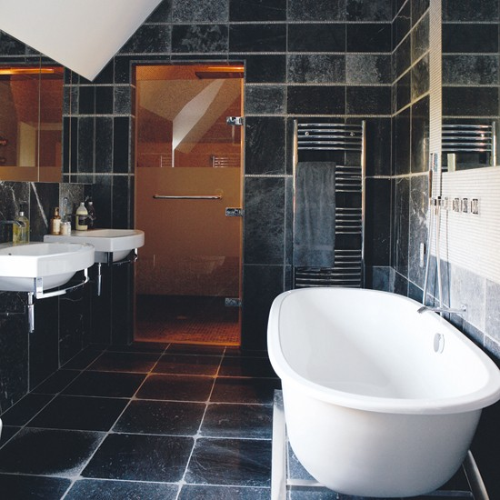 Tiled Bathroom Ideas Pictures: Tiled Bathroom With Shower Room